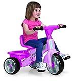 Feber 800010210 - Dreirad Baby Plus Musik, pink