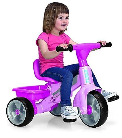 Feber - 800010210 - Trike Baby Plus Music - Rose