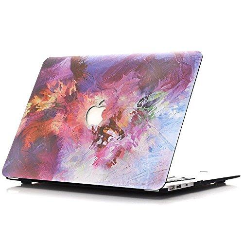 [MacBook Air 11 Zoll] BELK farbigen Muster Case, MacBook Protector-Hard Print Gummi beschichtet Hard Shell Cover. (Modellnummer: A1465 / A1370) (Print Protector)