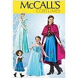 Mccall's MC7000KIDS - Patrones para disfraces de niña (varias tallas), texto en inglés