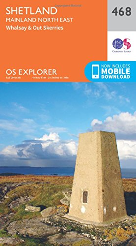 os-explorer-map-468-shetland-mainland-north-east