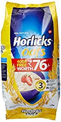 Horlicks Oats, 1kg with Free Oats, 400g