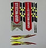 #3: Gray Nicolls Power Bow Cricket Bat Sticker