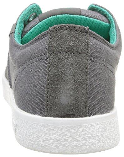 Supra  Stacks II,  Sneaker unisex adulto Grigio (Gris (Charcoal/Atlantis/White))