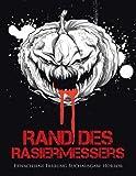 Rand des Rasiermessers: Erwachsene Färbung Buchausgabe Horror