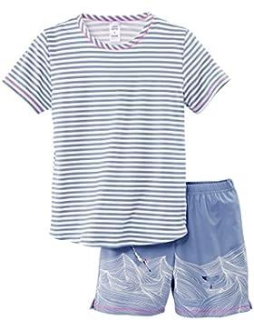 Calida Mädchen Zweiteiliger Schlafanzug Swimming Beauty Pyjama Kurz