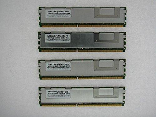 memorymasters 16GB (4x 4GB) Arbeitsspeicher für Apple Mac Pro DDR2PC2-5300667MHz ECC Voll gepuffert -