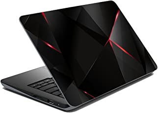 Gadgets WRAP Black red Abstract Laptop Decal for 15.6 inch Laptop 15x10