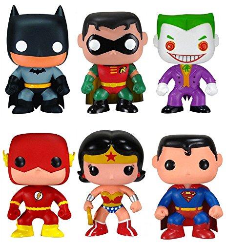 Funko-POP-DC-Comics-Mystery-Pack-6-Random-Stylized-Vinyl-Figure-Set-NEW