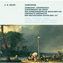 Bach: Cantatas - BWV 205, 207
