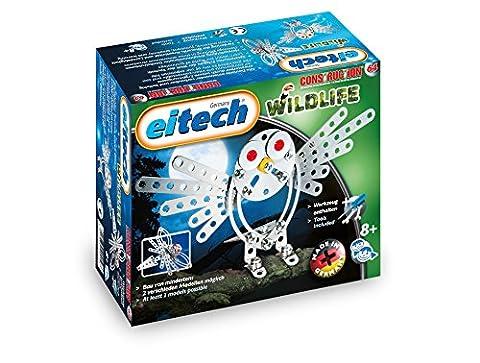 Eitech C64 Metal Construction Set Wildlife Owl Mosquito Building Kit