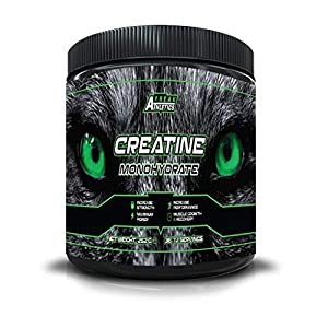 Creatine Monohydrate Powder 252g - Premium Grade Creatine Monohydrate - UK Made - Unflavoured Creatine Powder Scoop Included