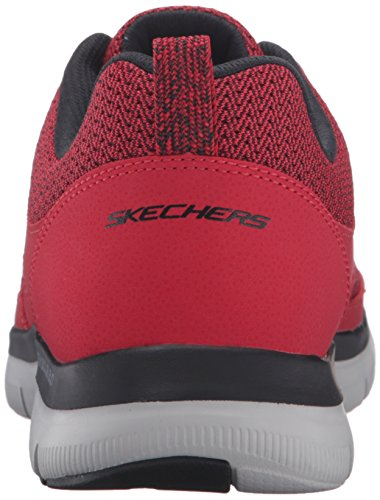 Skechers (SKEES) Equalizer- Quick Reaction, baskets sportives homme noir (BBK)