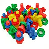 XuBa Jumbo Nuts and Bolts Set - Occupational Therapy - Matching Fine Motor