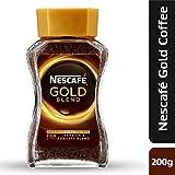 Nescafe Gold Blend Instant Coffee Powder, 200g Eden Jar