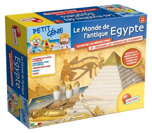 Lisciani – F45150 – exploración Game On – El mundo del antiguo Egipto