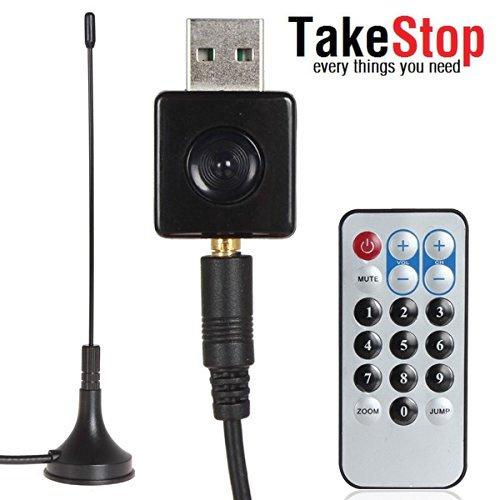 takestop® MINI DECODER DIGITALE TERRESTRE USB PC NOTEBOOK NETBOOK DVB-T HDTV DIGITAL TV