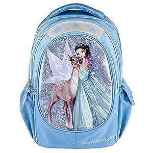 Depesche Mochila Escolar 10695, Modelo Fantasy Iceprincess, Aprox. 23 x 34 x 44 cm, Color Azul