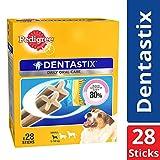 Pedigree Dentastix (Value) Oral Care Dog Treat for Adult Small Breed (5, 10 kg) Dogs, 440 g Monthly Pack (28 Sticks)