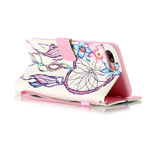 C-Super Mall-UK Apple iPhone 5 / 5S / SE hülle, Qualität PU-Leder Brieftasche Stehen Flip hülle für Apple iPhone 5 / 5S / SE colour Campanula
