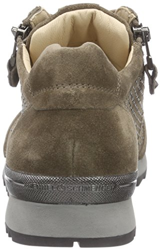 Kennel und Schmenger Schuhmanufaktur  Runner, Sneakers Basses femme Multicolore - Mehrfarbig (tundra/silk S. grau 635)