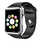 Estar Bluetooth Smart Watch Compatible with all 3G , 4G Phone With Camera and Sim Card Support With Apps like Facebook and WhatsApp Touch Screen Multilanguage Android/IOS Compatible with all Android, Samsung, iPhone , Lenovo, XIOMI, REDMI Oppo, VIVO, Motorola,IOS, Windows with activity trackers and fitness band features