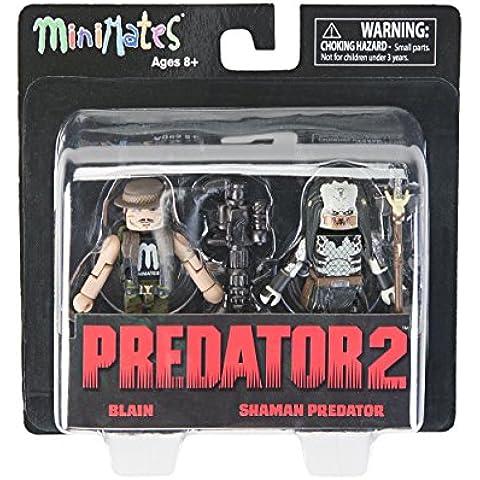 Predator 2 Minimates Blain & Shaman Predator Mini Figuras
