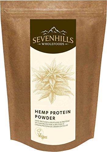 Sevenhills Wholefoods Proteína De Cáñamo Cruda En Polvo 500g