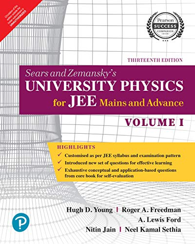 University Physics for JEE Mains and Advance | Vol 1 | By Pearson