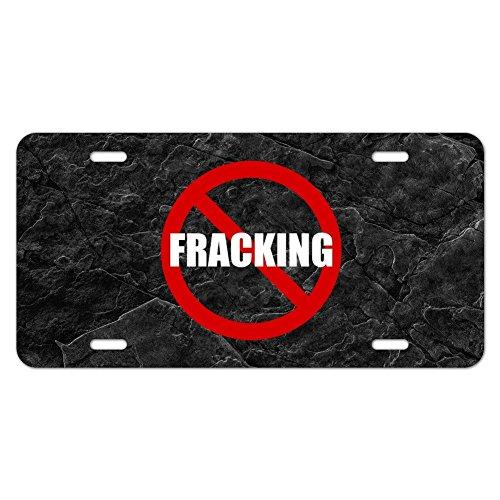 Kein Fracking Neuheit Metall Vanity Tag License Plate