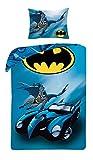 Die besten DC Comics Beddings - Halantex DC Comic Batman Bettbezug und Kopfkissenbezug Set Bewertungen