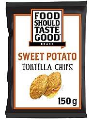 Food Should Taste Good Sweet Potato Gluten Free Tortilla Chips 150 g