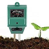 Yunhigh 3in 1Garden Soil tester misuratore di umidità multiuso PH acidità tester temperatura sensore