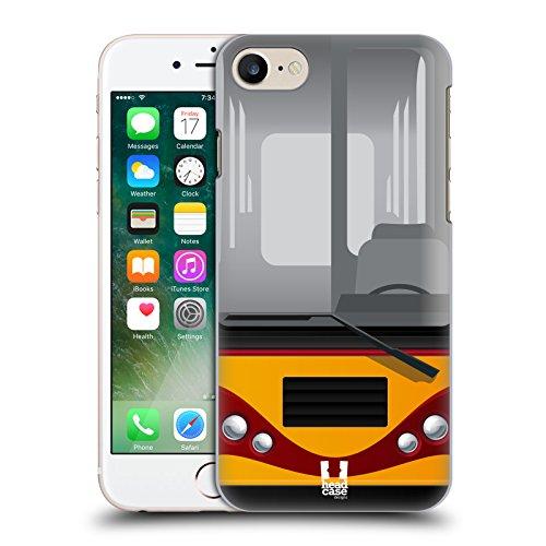 Head Case Designs Dolce Marinaio Autobus Cover Retro Rigida per Apple iPhone 7 Plus / 8 Plus Amante Della Strada