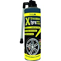 Simply SX500 Xtreme Tyre Inflator and Sealer, 500ml,Fix Leak, Instant Repair without moving wheel, Works on all 18'' and under - ukpricecomparsion.eu