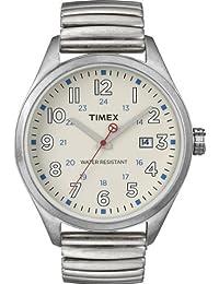 Timex Damen-Armbanduhr Analog Edelstahl beschichtet T2N309