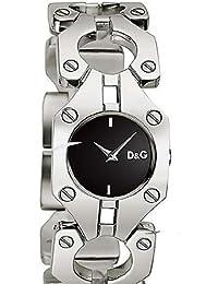 D&G WATCH CROISETTE SS BLACK DIAL BRC DW0399 Damen