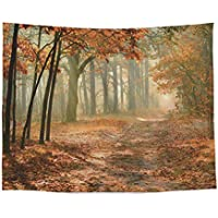 Artland Qualit/ätsbilder I Bild auf Leinwand Leinwandbildereyetronic Herbstwald Panorama Landschaften Wald Fotografie Orange A7QA
