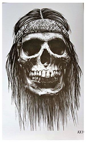 Tatouages tete mort - Tatouage corbeau signification ...