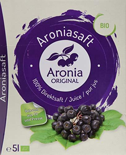 Aronia Original Bio Aroniasaft 100% Direktsaft, 1er Pack (1 x 5 l)