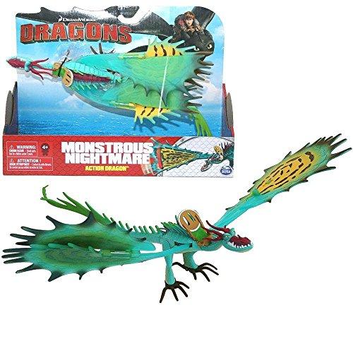 Dragons - Action Spiel Set - Drachen Riesenhafte Alptraum Monstrous Nightmare