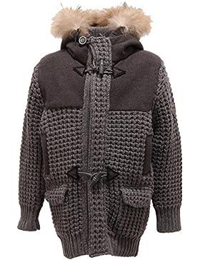 4687T montgomery bimbo NHAV grigio giaccone cappotto jackets coats kids