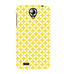 Baby Yellow Clothes 3D Hard Polycarbonate Designer Back Case Cover for Lenovo S820