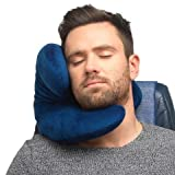 J-pillow, Travel Pillow - British Invention of the Year 2013 - (Navy) Bild 1