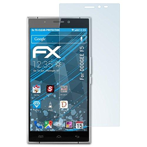 atFolix Schutzfolie kompatibel mit DOOGEE F5 Folie, ultraklare FX Bildschirmschutzfolie (3X)