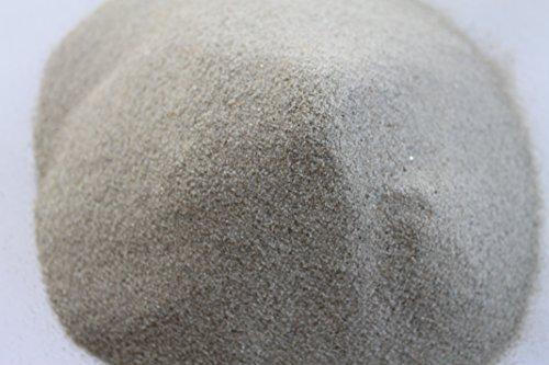 stoneeleven® Terrarium Sand hochrein - Made in Germany - abgerundete 0,1 bis 0,3 mm Körnung (1 kg)