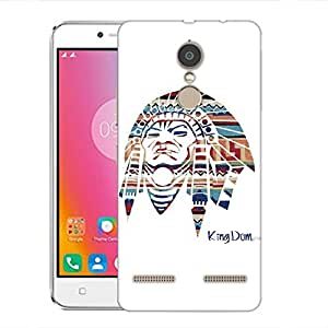 Snoogg Red Indian Designer Protective Back Case Cover For Lenovo K6 Power