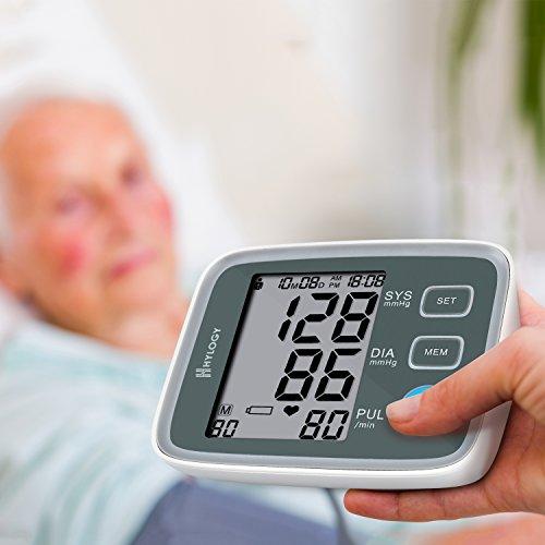 Hylogy Tensiómetro de Brazo Memoria (2 * 90) Certifica FDA CE