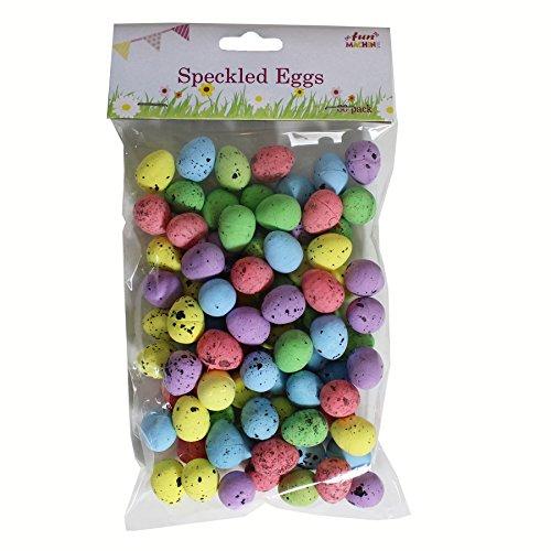 Fun Machine Decorazioni pasquali Arts Craft Egg Hunt–06477–80pezzi mini punteggiato uova