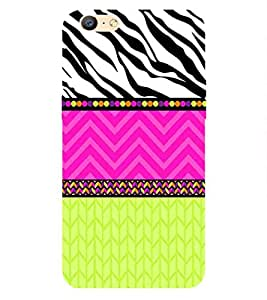 For Oppo A57 Fusion Wallpaper Zebra Printed Cell Phone